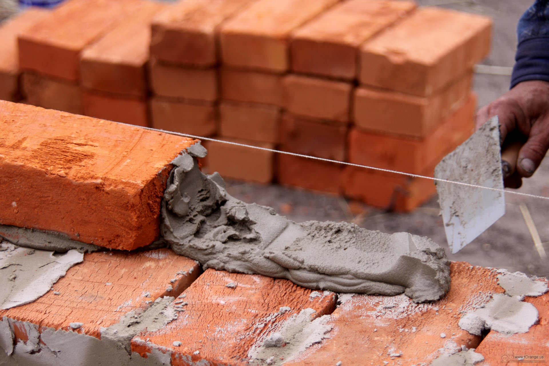 Кладка цемента своими руками