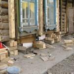 Ремонт фундамента деревянного дома — особенности ремонта