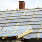 Установка пароизоляции крыши