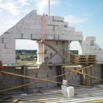 Фронтоны двухскатных крыш