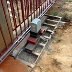 Фундамент под откатные ворота своими руками — пошаговая инструкция