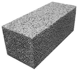 Керамзитобетонный блок