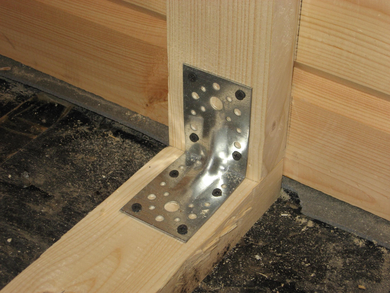 Крепежи для деревянных конструкций