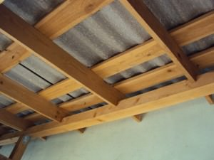 Крыша односкатная