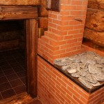 Печь для бани из кирпич