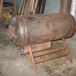 Печь из газового баллона своими руками — пошаговая инструкция
