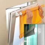 Рулонные шторы на пластиковые окна без сверления — пошаговая инструкция