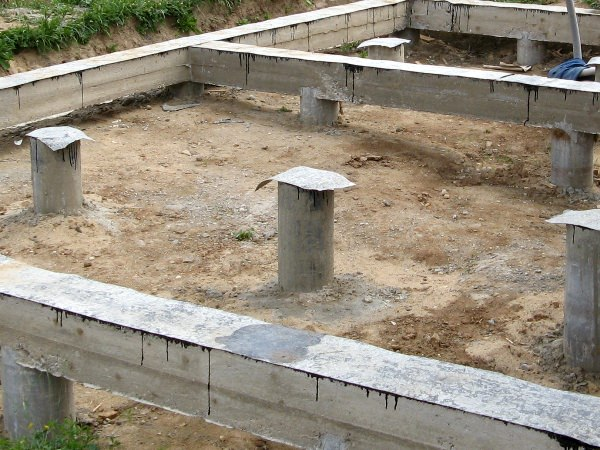 Как построить фундамент для бани — пошаговая инструкция