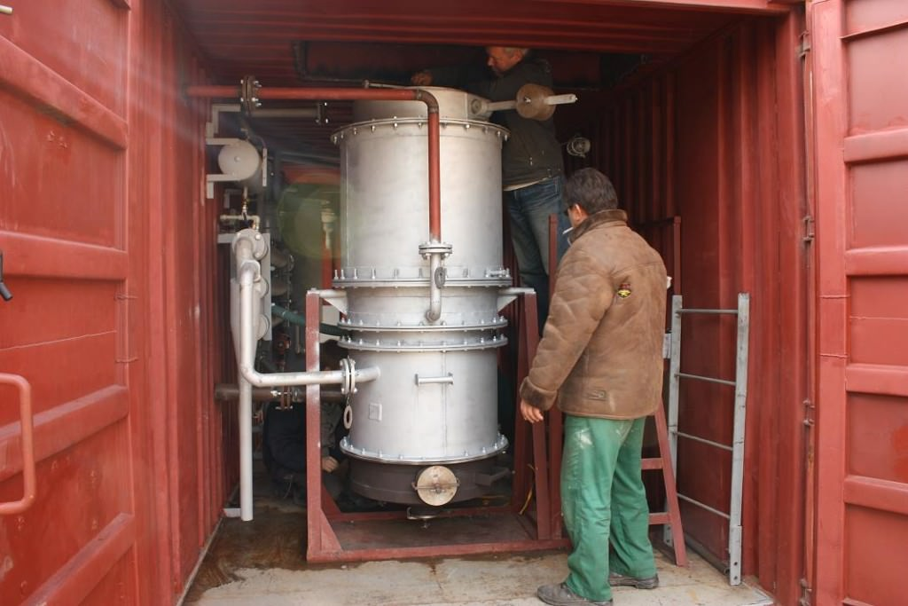 Изготовление газогенератора на дровах 115