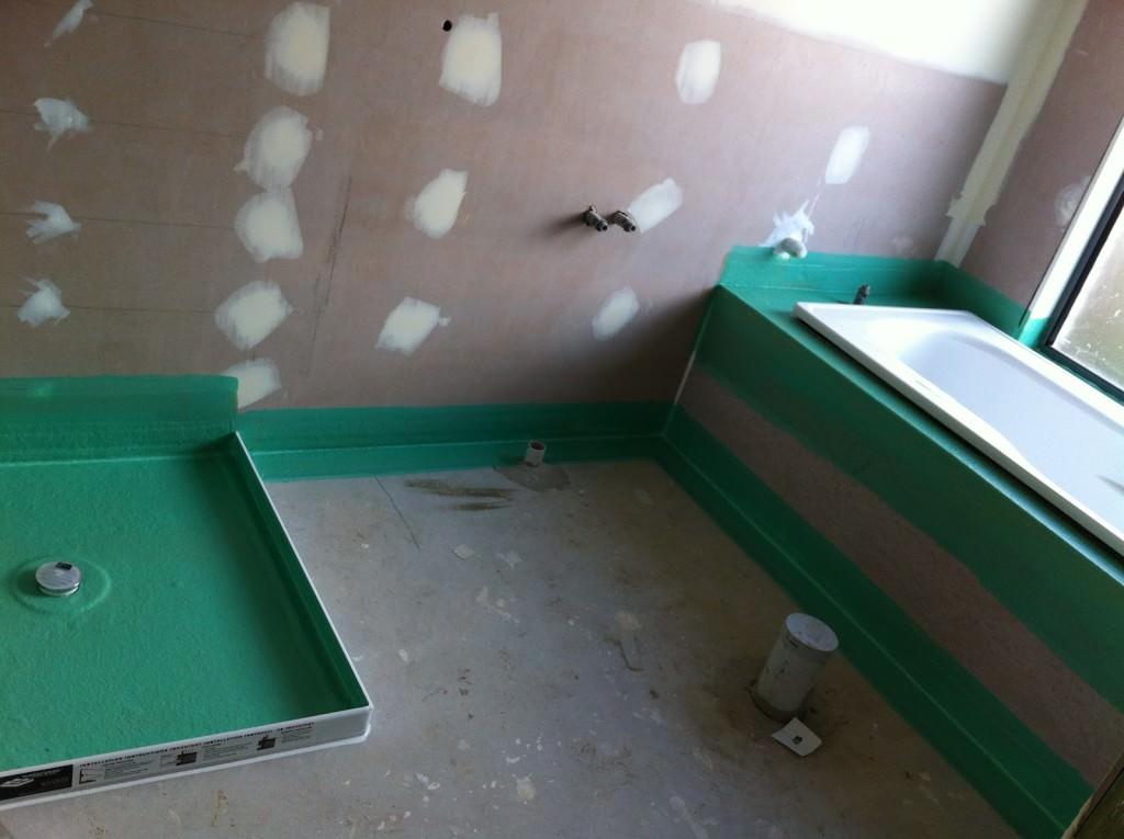 Гидроизоляция ванной комнаты цена за квадратный метр наливной пол самовыравнивающийся рейтинг строителей