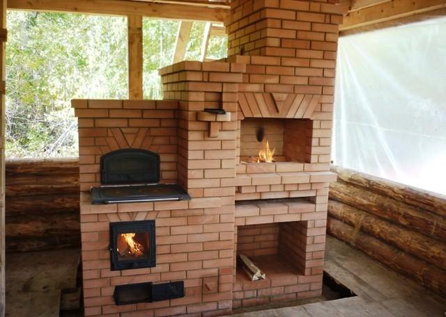 Печи и камины для дачи — пошаговая инструкция по установке