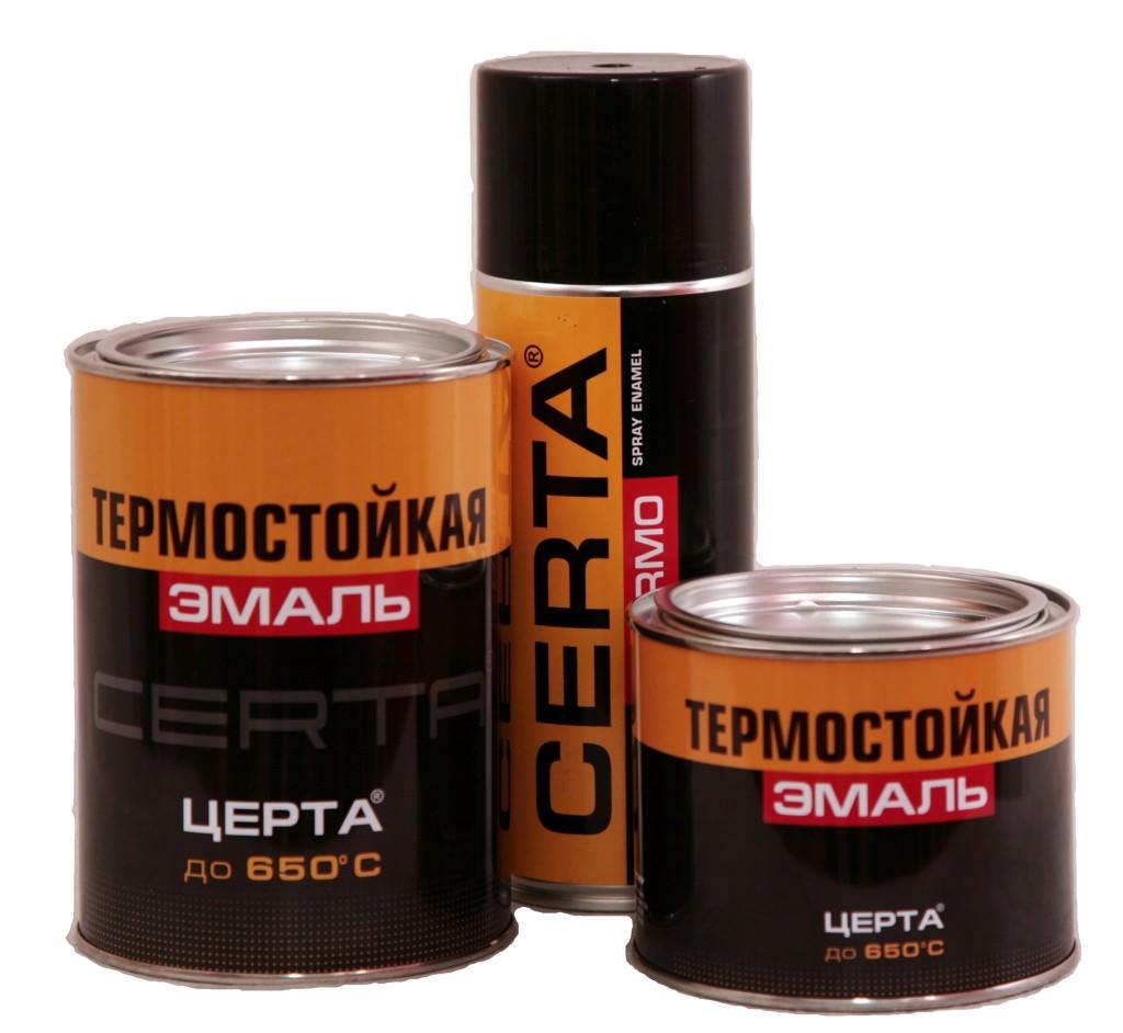Термостойкая краска по металлу — советы при выборе