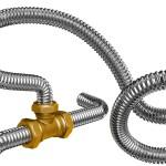 Трубы из гофрированной нержавеющей стали