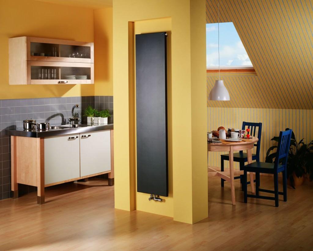Вертикальные радиаторы отопления плоские