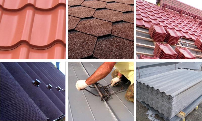 Виды кровельных материалов для крыш — плюсы и минусы