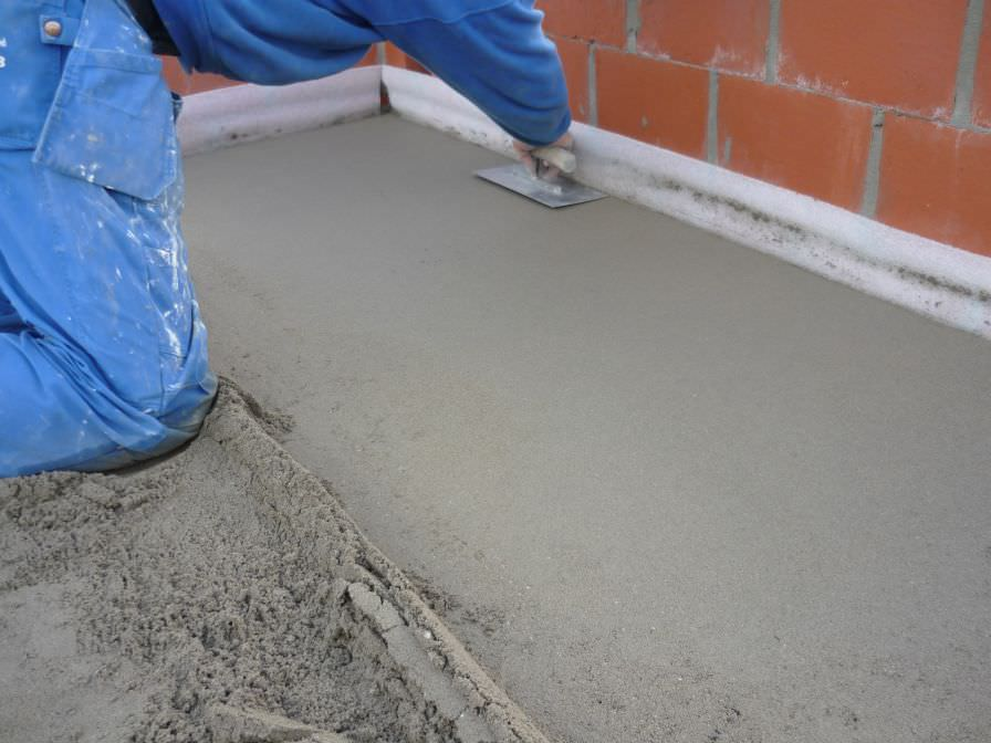 Выравнивание бетонного пола сухая стяжка