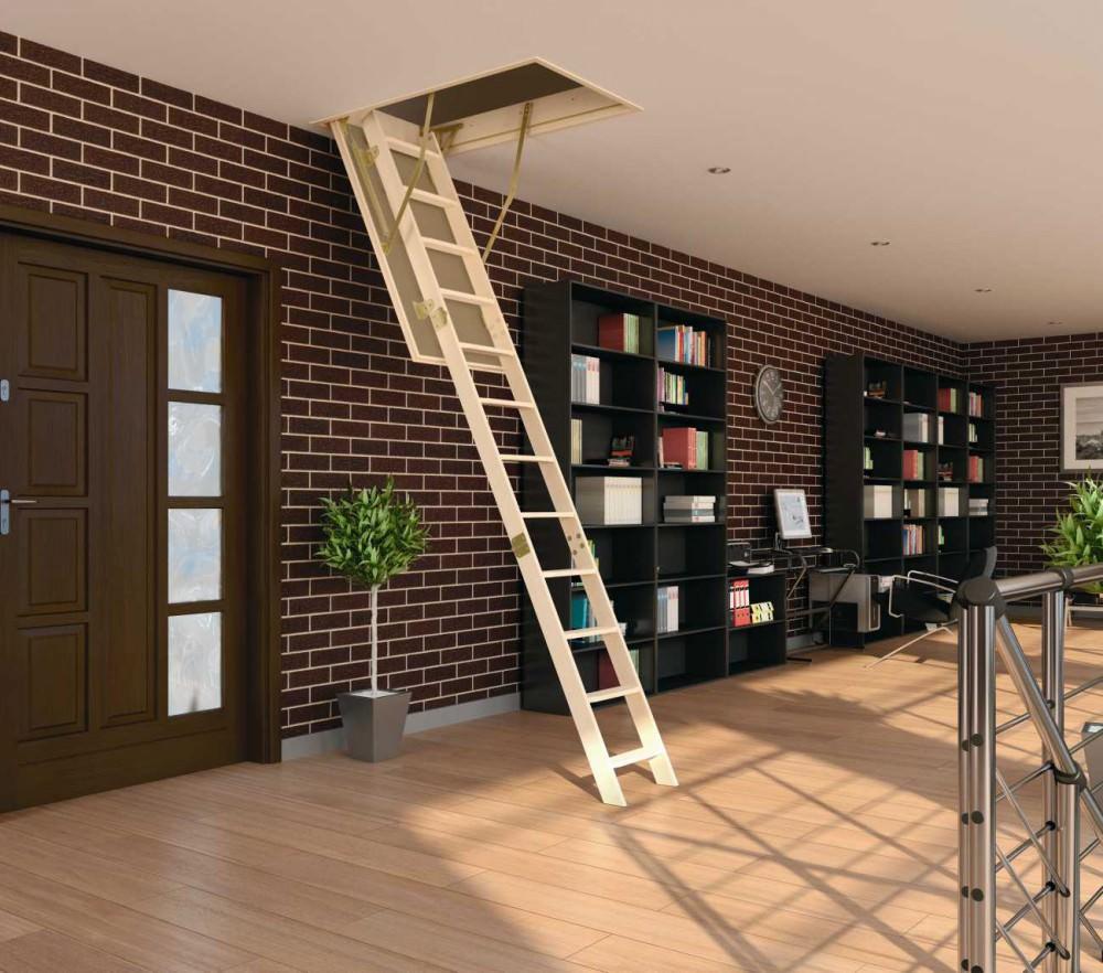 Чердачный люк с лестницей — плюсы и минусы