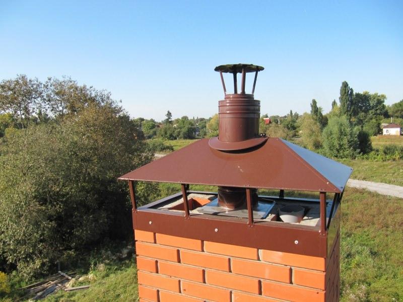 Колпаки на трубы дымоходов — практические аспекты