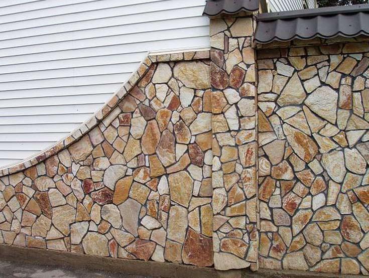 Натуральный фасадный камень