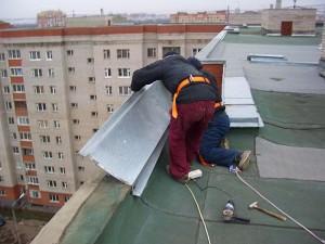 Парапеты крыши