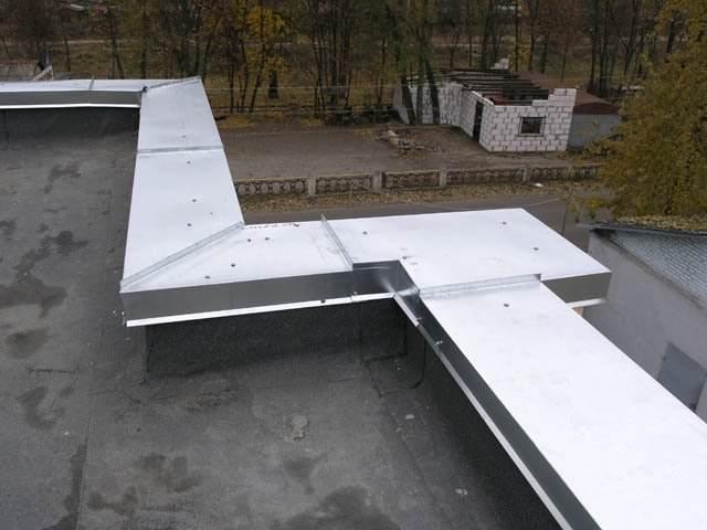 Парапеты крыши — пошаговая инструкция монтажа