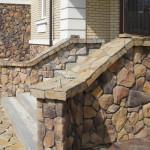 Природный камень для облицовки цоколя – пошаговая инструкция