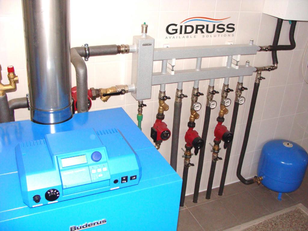 Гидрострелки для отопления
