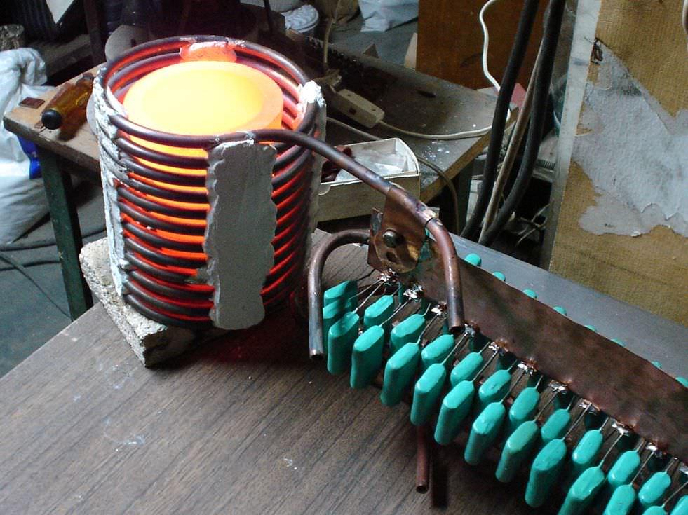 Индукционные нагреватели своими руками