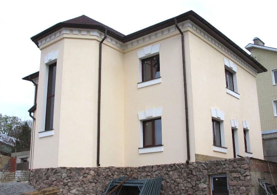 Мокрый фасад