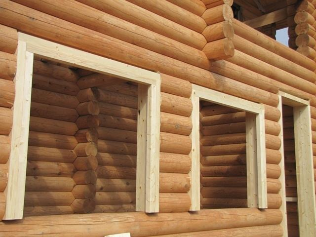 Как выполняется установка пластиковых окон в деревянном доме своими руками