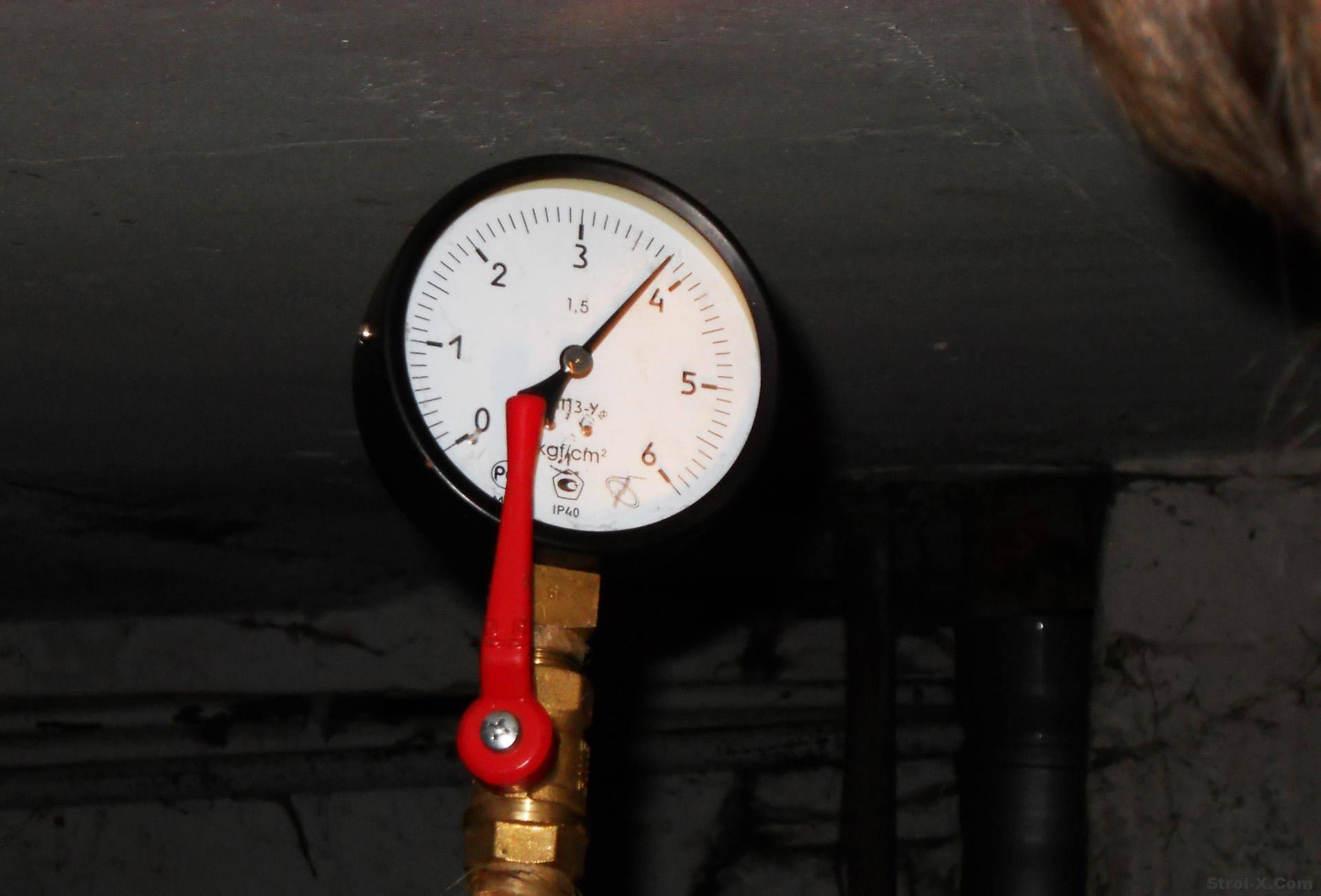 Перепад давления в системе отопления