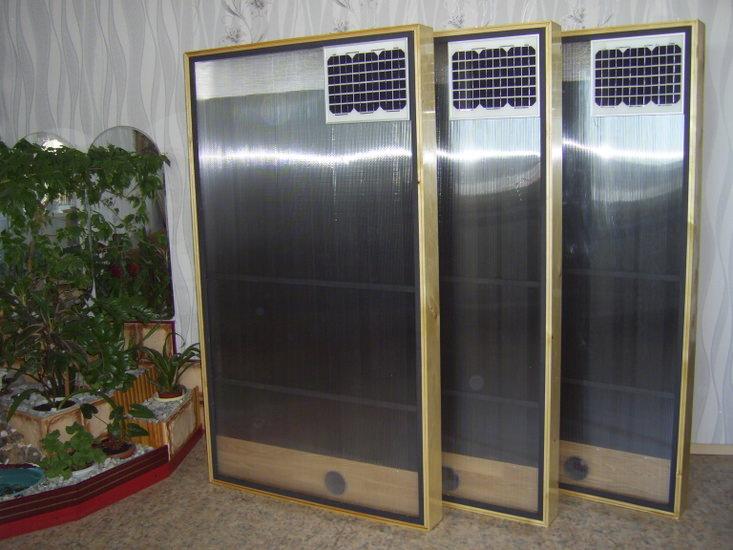Коллектор солнечный воздушный