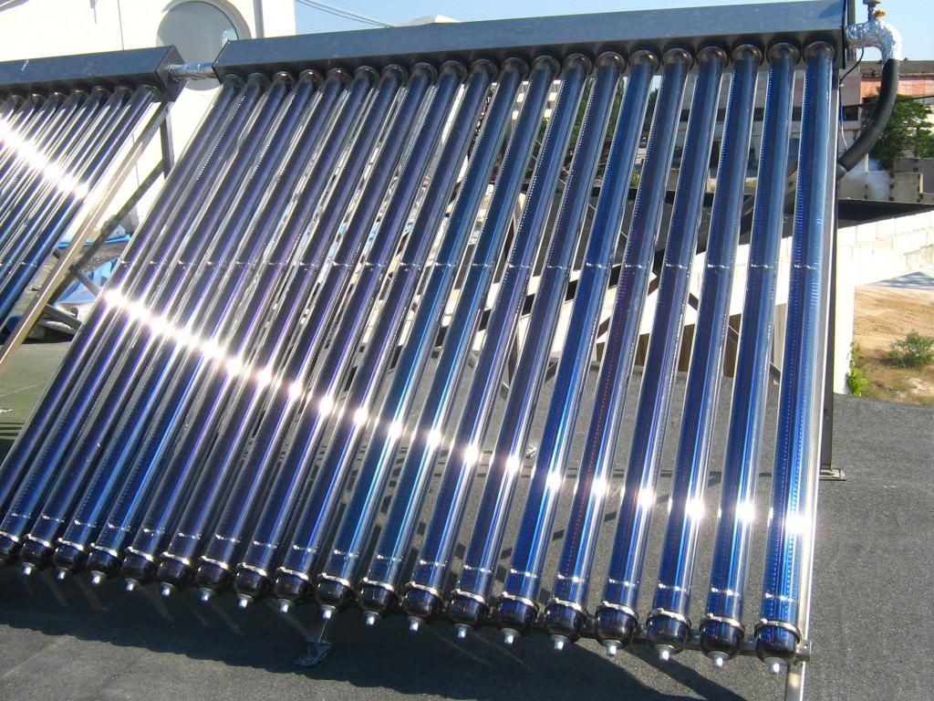 Коллектор солнечный жидкостный