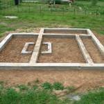 Как построить фундамент для бани – пошаговая инструкция