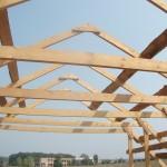 Двухскатная крыша своими руками – пошаговая иснтрукция