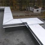 Парапеты крыши – пошаговая инструкция монтажа