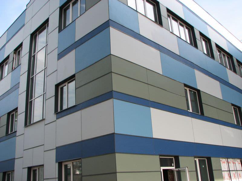 Фиброцементный вентилируемый фасад
